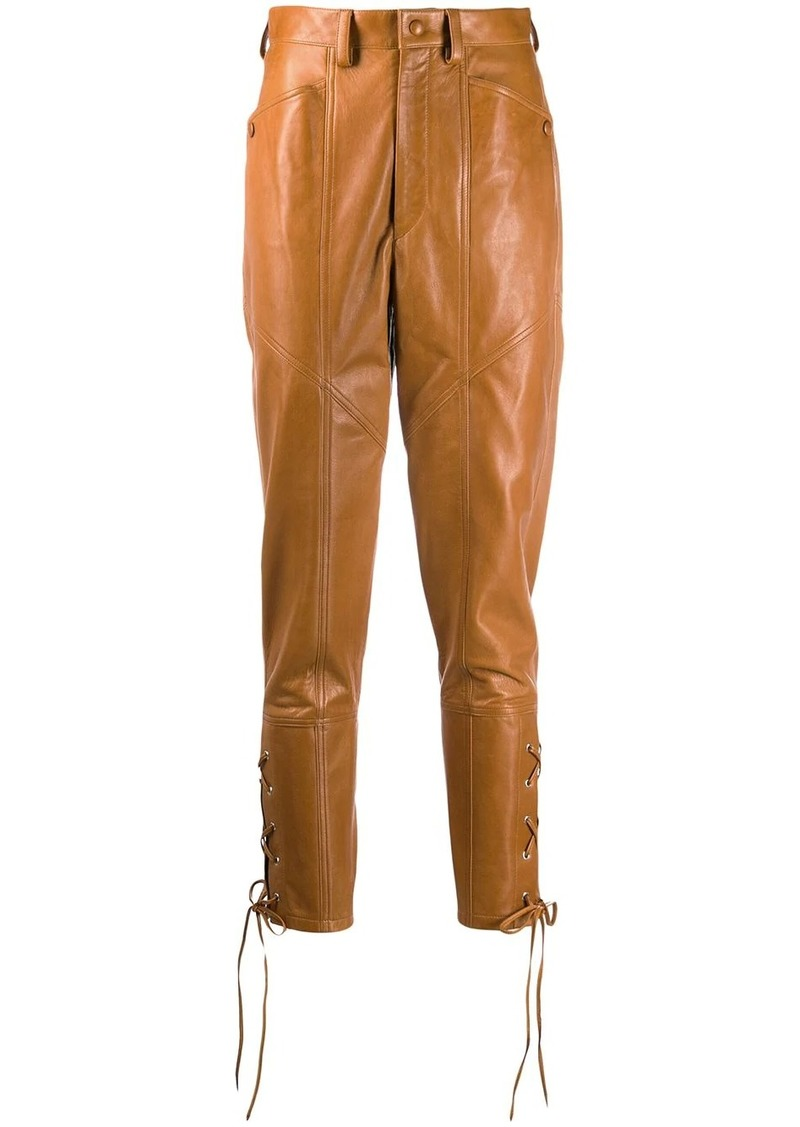 Isabel Marant Cadix leather trousers