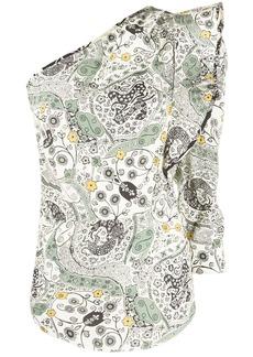 Isabel Marant Carina one-shoulder top