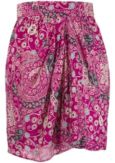Isabel Marant Cegart floral printed mini skirt