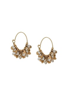 Isabel Marant charm detail hoop earrings