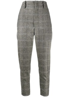Isabel Marant check print trousers