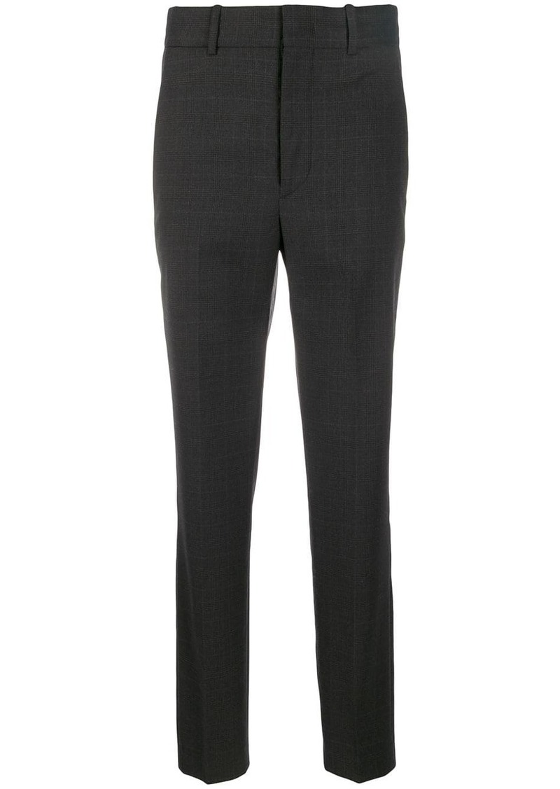 Isabel Marant check slim fit trousers