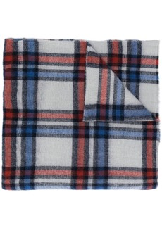 Isabel Marant checked chunky scarf