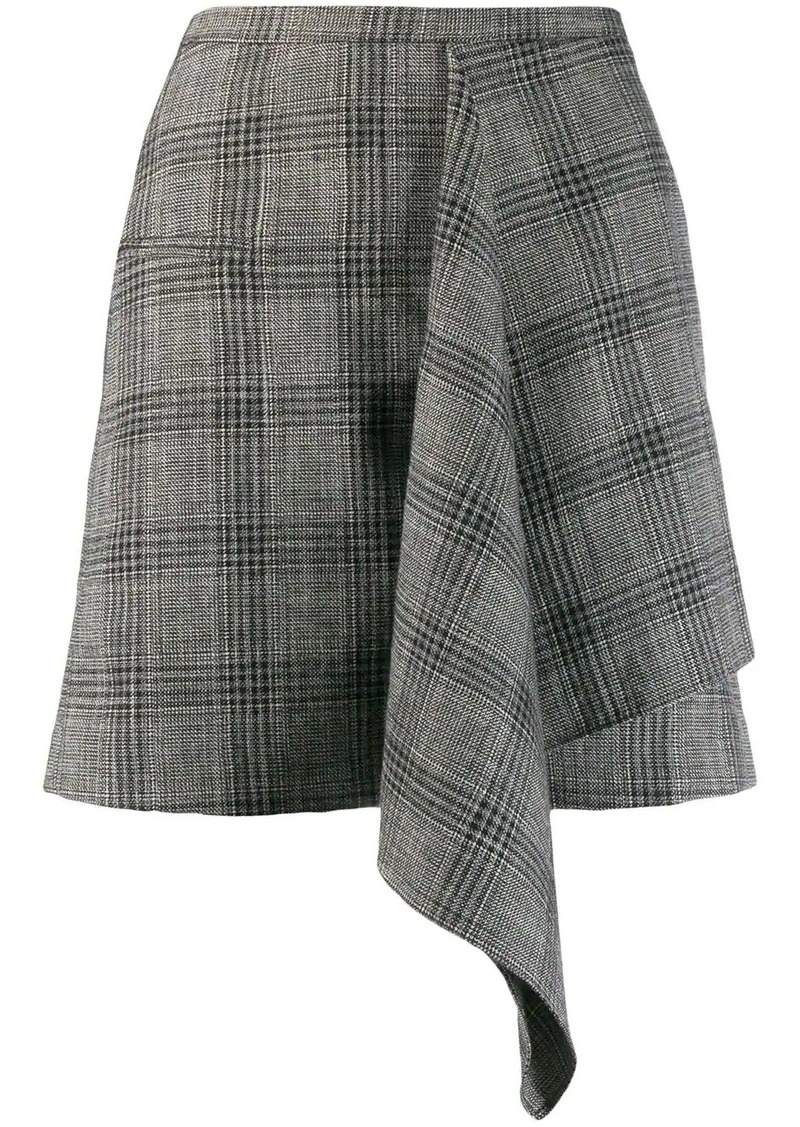 Isabel Marant checked mini skirt