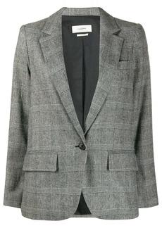 Isabel Marant checkered single-breasted blazer