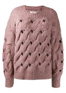 Isabel Marant chunky interlock knit jumper