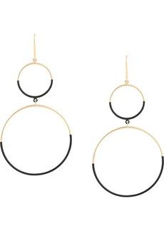 Isabel Marant circles drop earrings