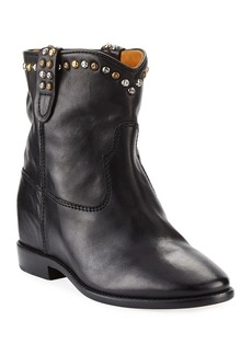Isabel Marant Cluster Hidden-Wedge Western Boots