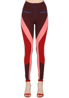 Isabel Marant Color Block Stretch Leggings