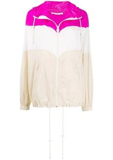 Isabel Marant colour blocked rain jacket
