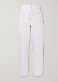 Isabel Marant Corsy High-rise Tapered Jeans