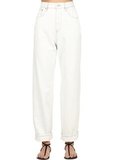 Isabel Marant Cotton Denim Boyfriend Jeans