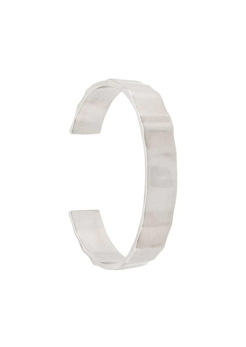 Isabel Marant crinkled cuff bracelet