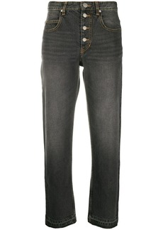 Isabel Marant cropped button up jeans