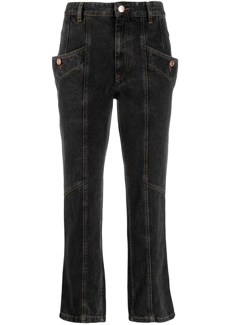 Isabel Marant cropped jeans