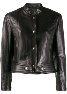 Isabel Marant cropped leather jacket