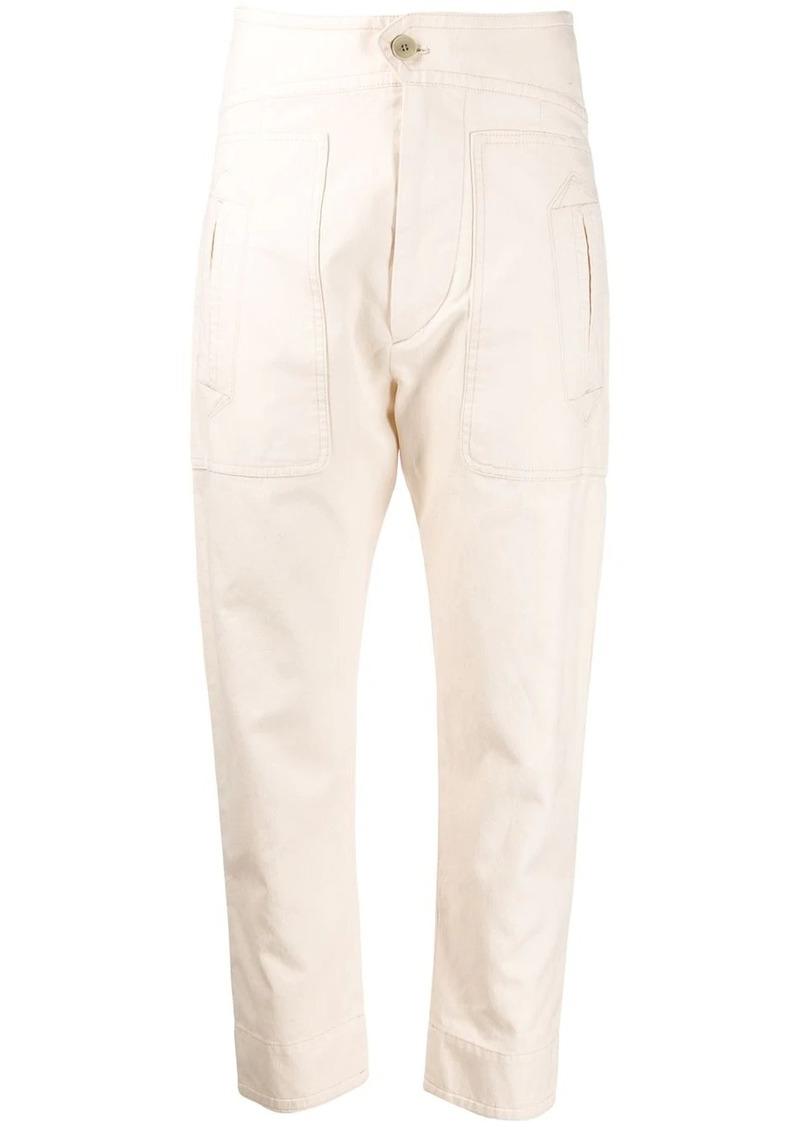 Isabel Marant cropped Raluni pants