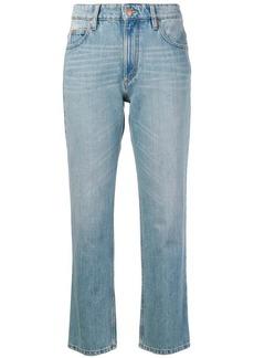 Isabel Marant cropped slim-fit jeans