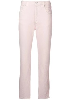 Isabel Marant cropped slim-fit trousers