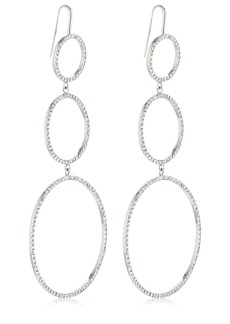 Isabel Marant Crystal Circles Drop Earrings
