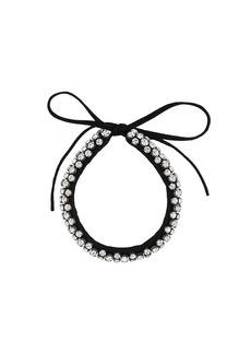 Isabel Marant crystal-embellished choker necklace