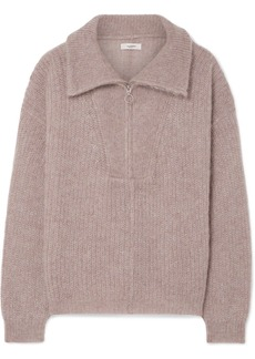 Isabel Marant Cyclan Oversized Mohair-blend Sweater