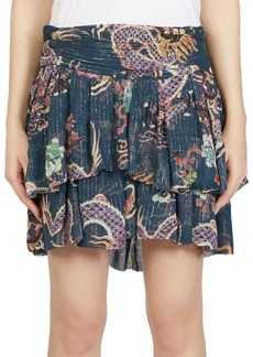 Isabel Marant Dahlia Ruffle Mini Skirt