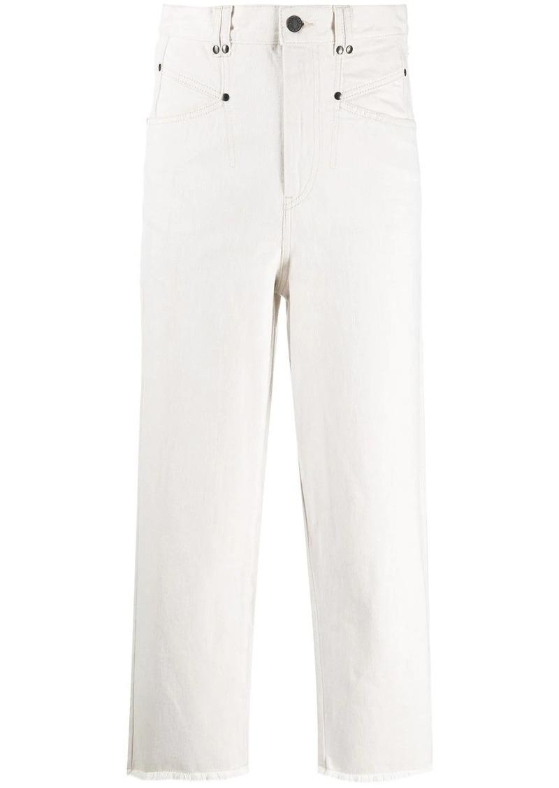 Isabel Marant Daliska high-rise denim jeans