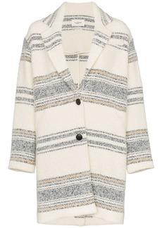 Isabel Marant Dante single-breasted coat