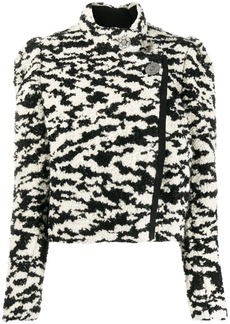 Isabel Marant Daphne puff-shoulders jacket