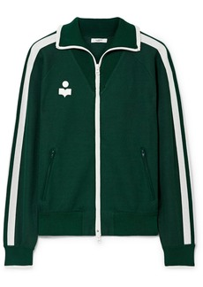 Isabel Marant Darcey Striped Jersey Track Jacket