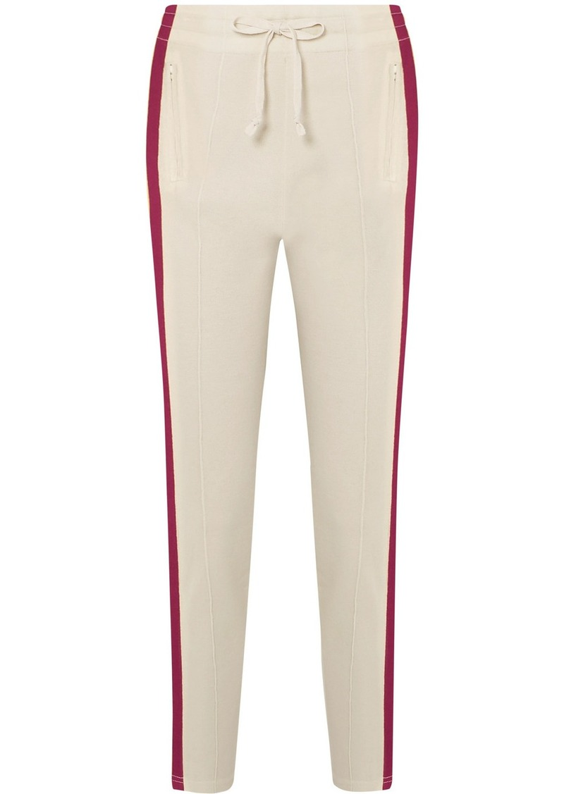 Isabel Marant Darion Striped Knitted Track Pants