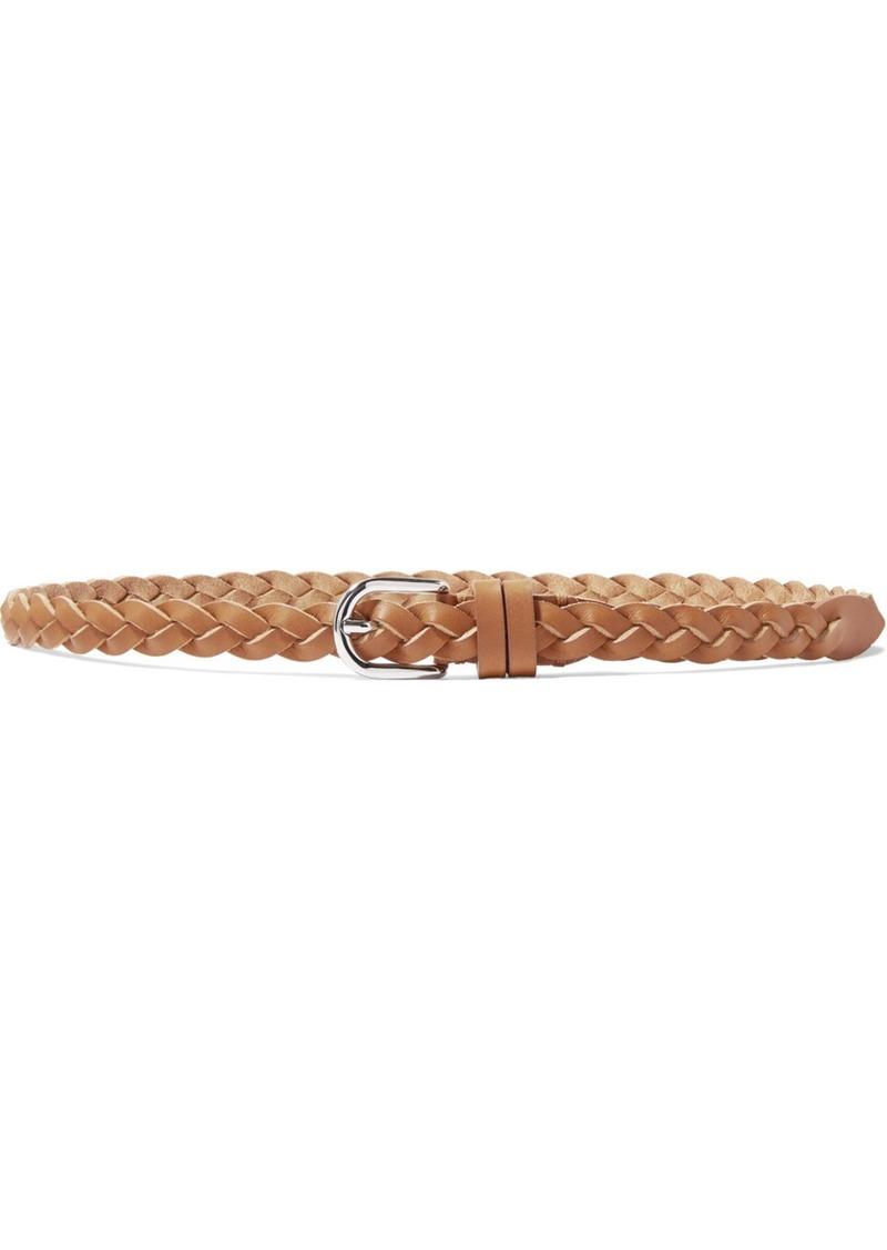 Isabel Marant Davis Braided Leather Belt