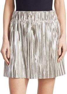 Isabel Marant Delpha Metallic Mini Skirt
