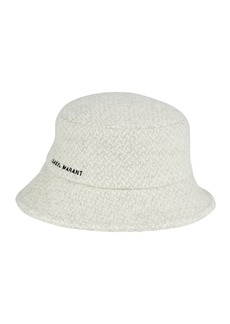 Isabel Marant Denji Herringbone Wool Bucket Hat