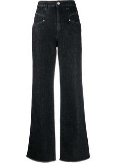 Isabel Marant Dilesqui wide-leg jeans
