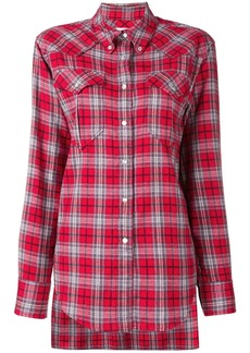 Isabel Marant divana check shirt