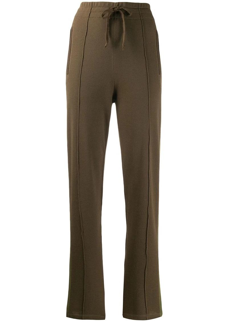 Docia stripe detail track pants