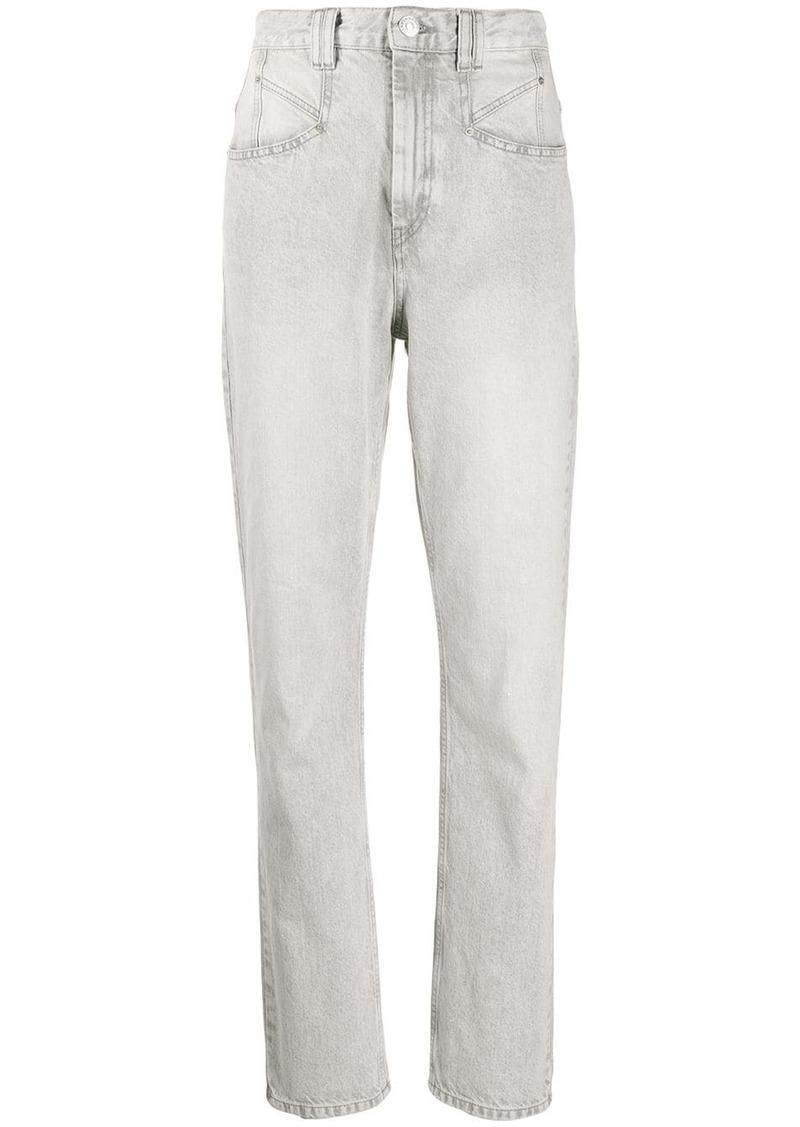 Isabel Marant Dominic high-rise slim jeans