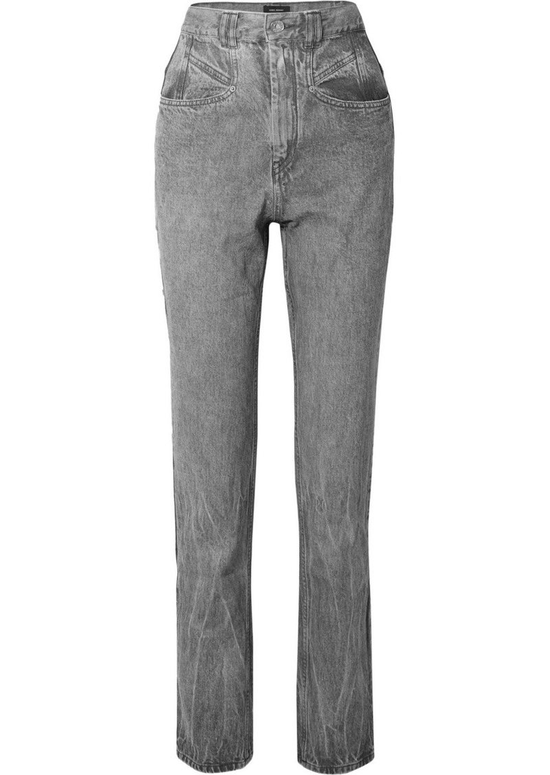 Isabel Marant Dominic High-rise Slim-leg Jeans