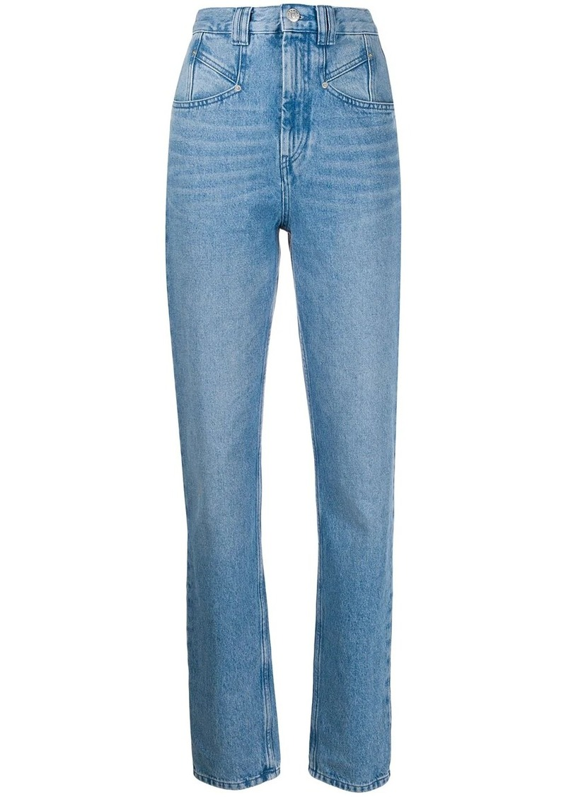 Isabel Marant Dominic slim fit jeans