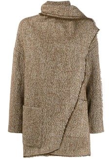 Isabel Marant draped detail coat
