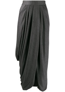 Isabel Marant draped front skirt