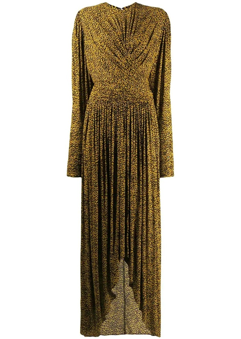 Isabel Marant draped long dress