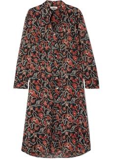 Isabel Marant Eliane Printed Cotton-voile Dress