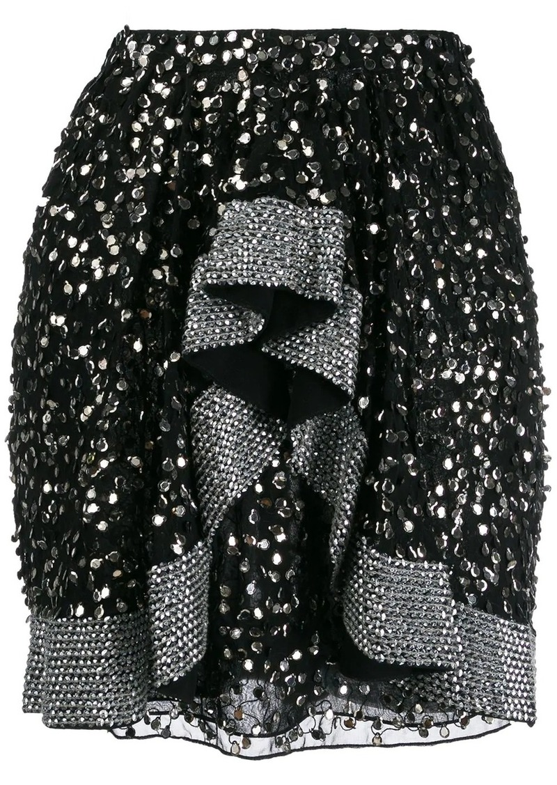 Isabel Marant embellished mini skirt