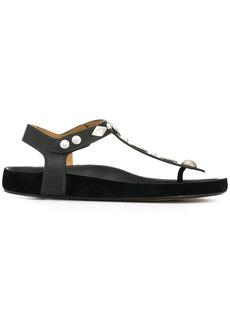 Isabel Marant embellished thong sandals