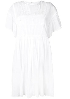 Isabel Marant embroidered short dress