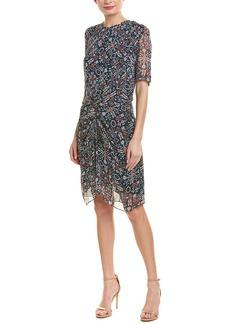 Etoile Isabel Marant Geometric Print Shift Dress