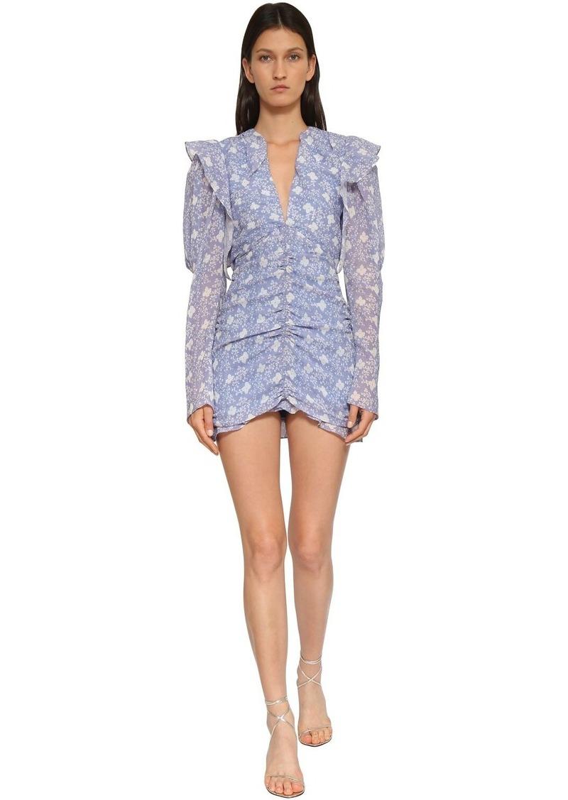 Isabel Marant Etya Printed Cotton Mini Dress